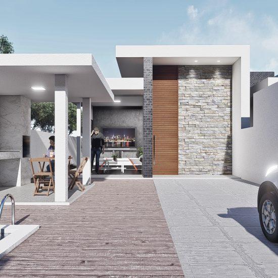 Casa Bifamiliar